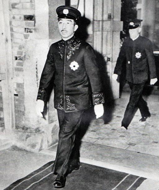 After Hirohito radio address