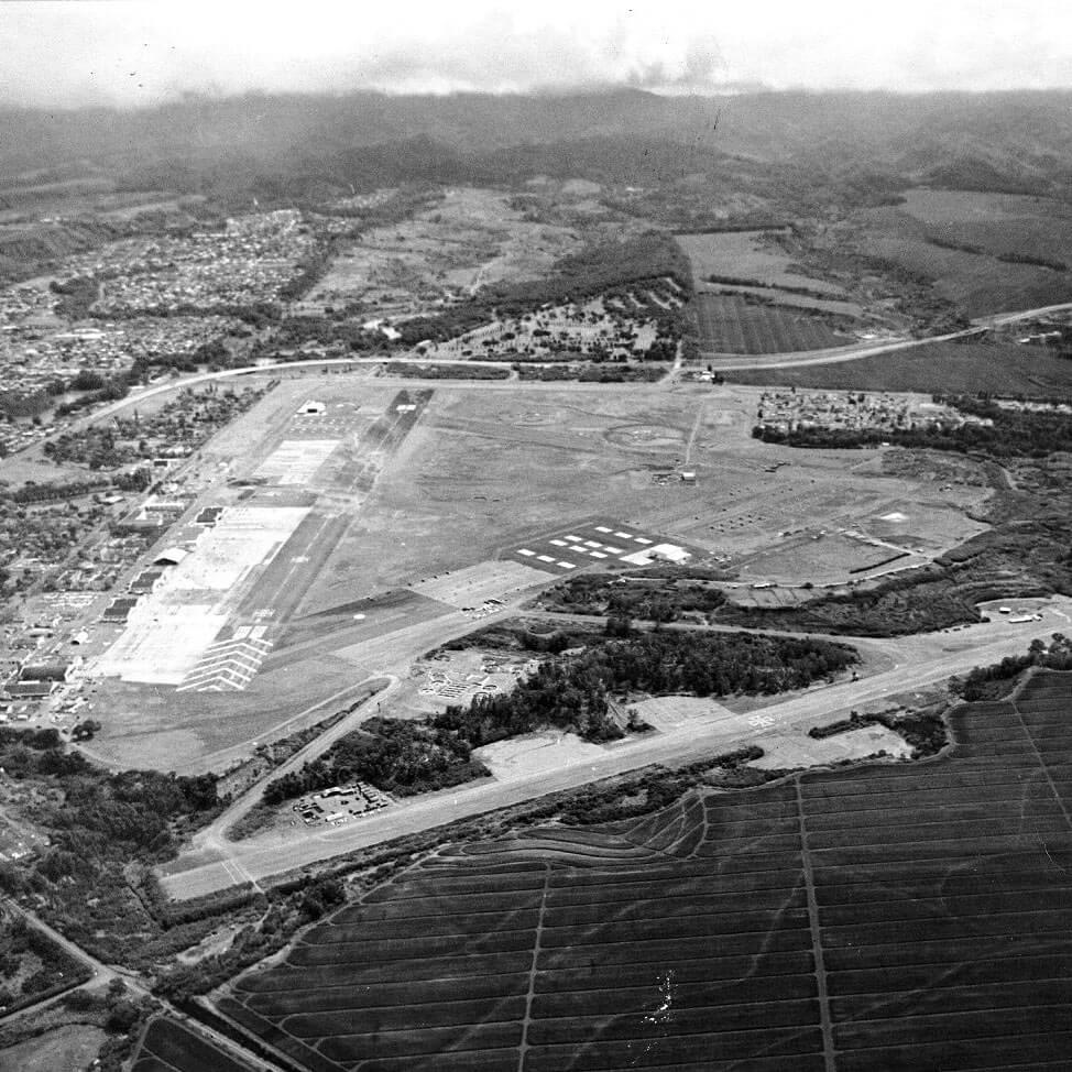 Wheeler Air Field Then